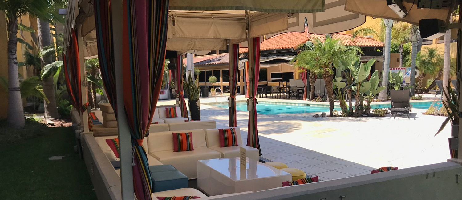 Grab a poolside lounge chair and enjoy sweet relaxation all year round!