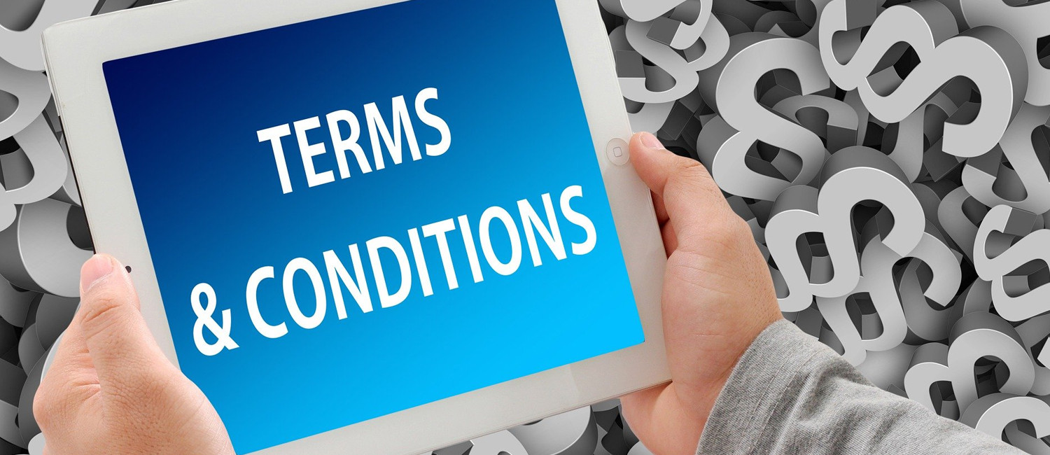 TERMS AND CONDITIONS FOR THE ATRIUM HOTEL